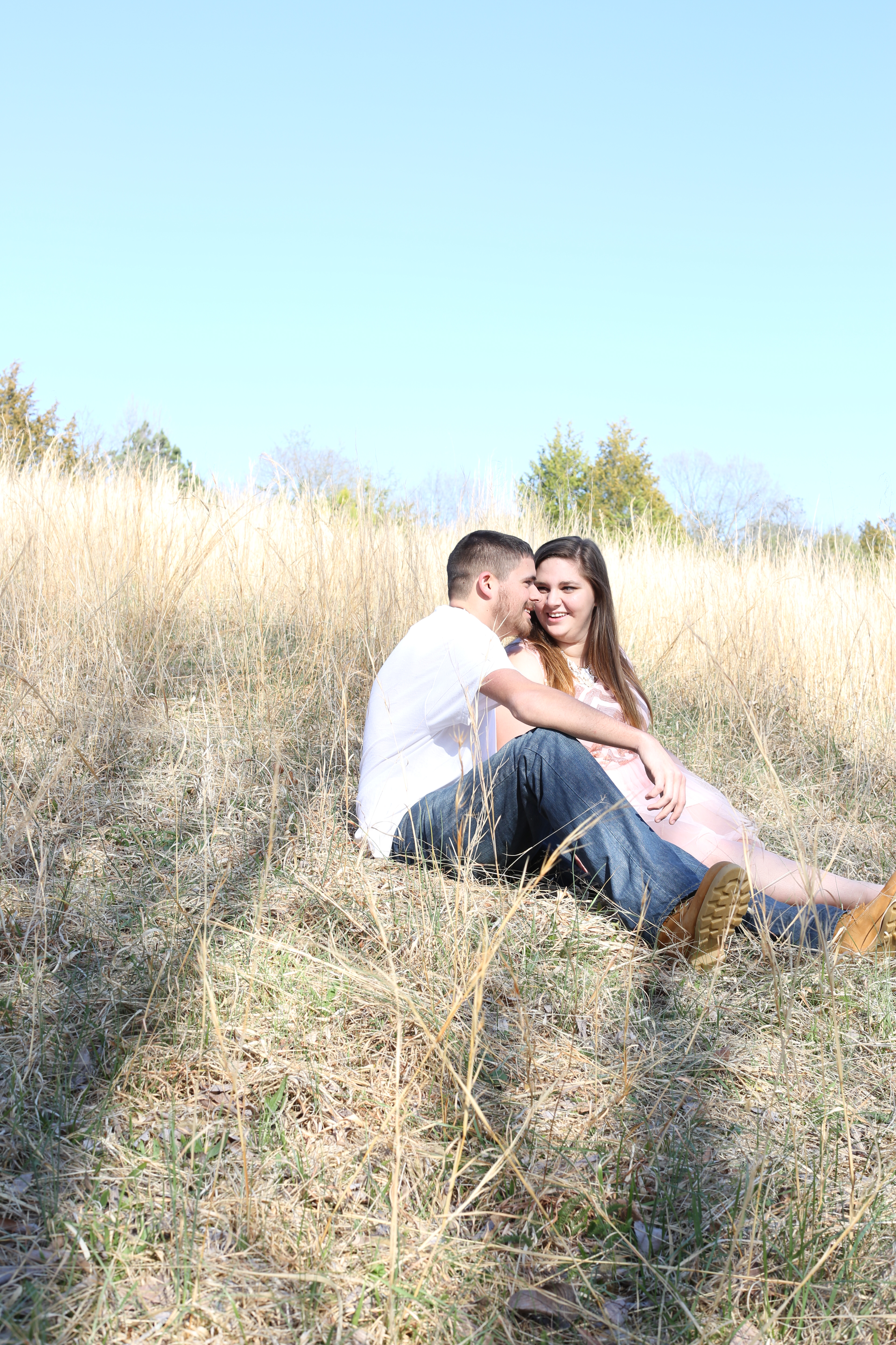 barnhouse engagement pink dress country (1 of 1)-3