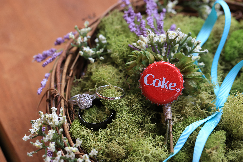 Virginia Wedding Cute Bottle Cap Inspired Wedding (1 of 1)-9