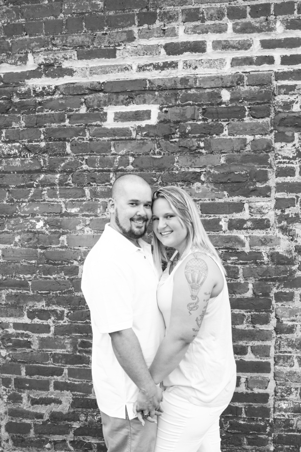 downtown fredericksburg virginia engagement session heather michelle photography dog (1 of 1)-13