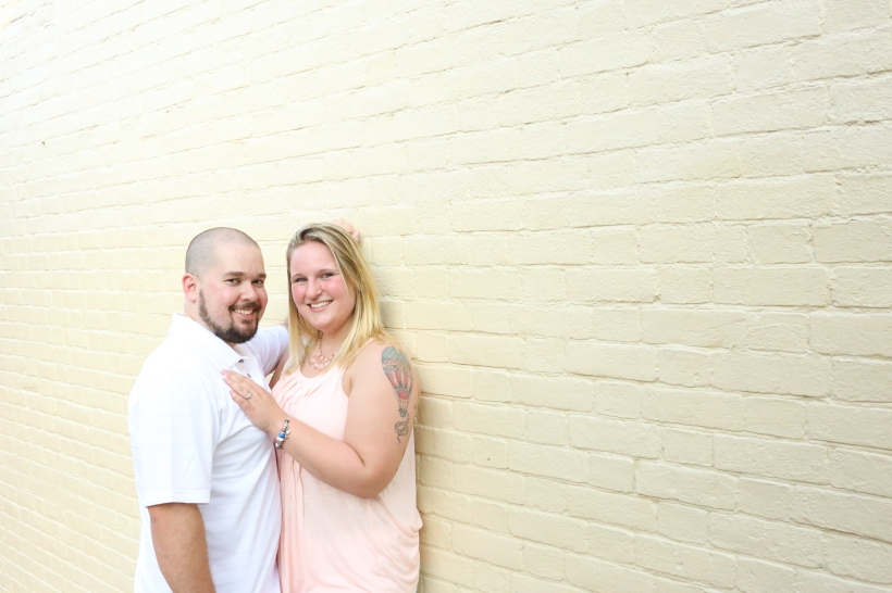 downtown fredericksburg virginia engagement session heather michelle photography dog (1 of 1)-15