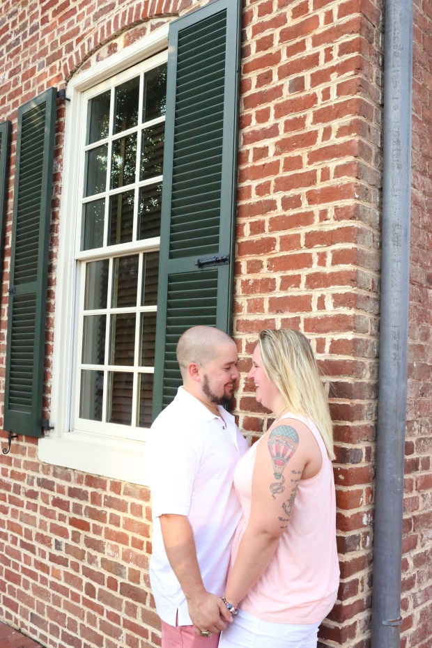 downtown fredericksburg virginia engagement session heather michelle photography dog (1 of 1)-16