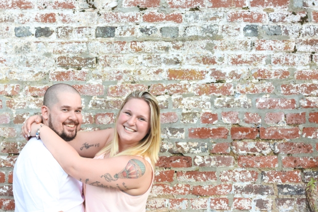 downtown fredericksburg virginia engagement session heather michelle photography dog (1 of 1)-18
