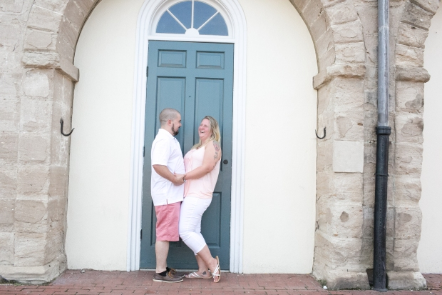 downtown fredericksburg virginia engagement session heather michelle photography dog (1 of 1)-2