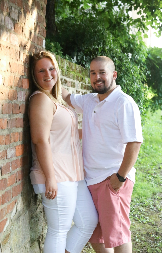 downtown fredericksburg virginia engagement session heather michelle photography dog (1 of 1)-21