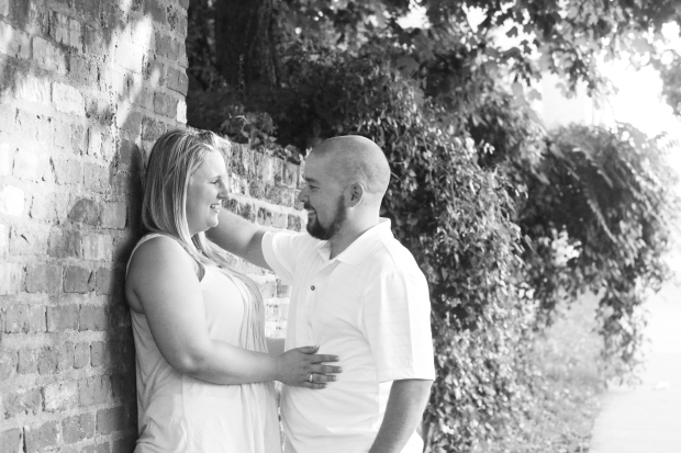 downtown fredericksburg virginia engagement session heather michelle photography dog (1 of 1)-22