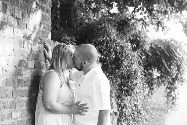 downtown fredericksburg virginia engagement session heather michelle photography dog (1 of 1)-23