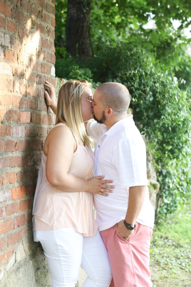downtown fredericksburg virginia engagement session heather michelle photography dog (1 of 1)-24