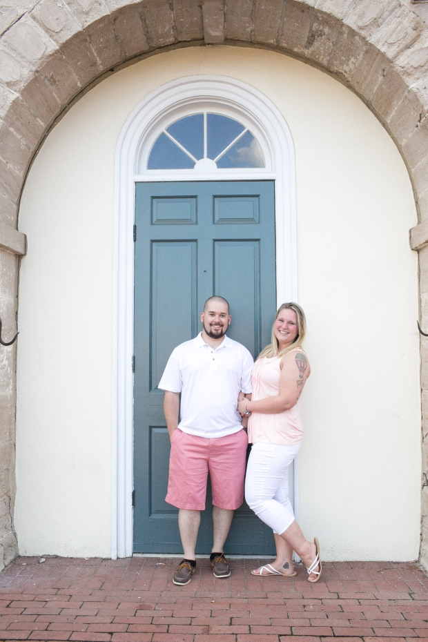 downtown fredericksburg virginia engagement session heather michelle photography dog (1 of 1)-3