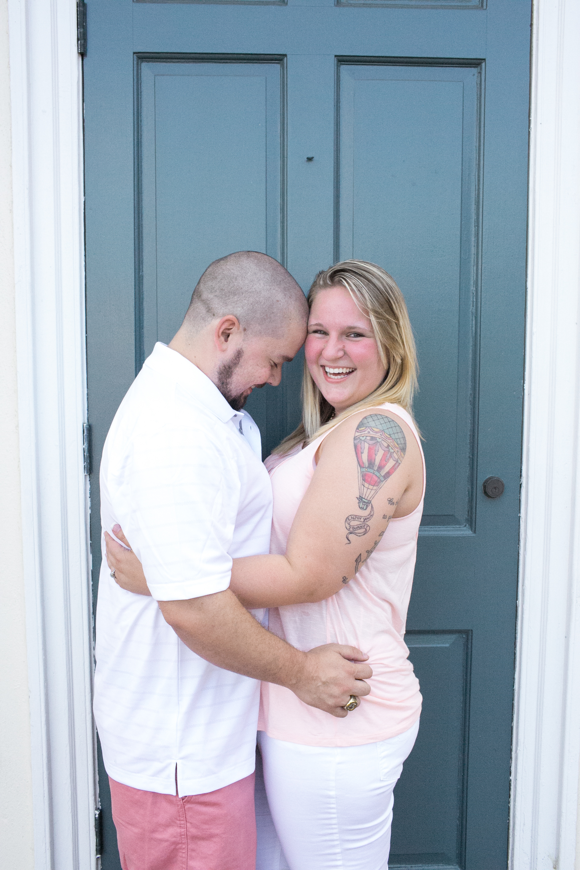 downtown fredericksburg virginia engagement session heather michelle photography dog (1 of 1)-4