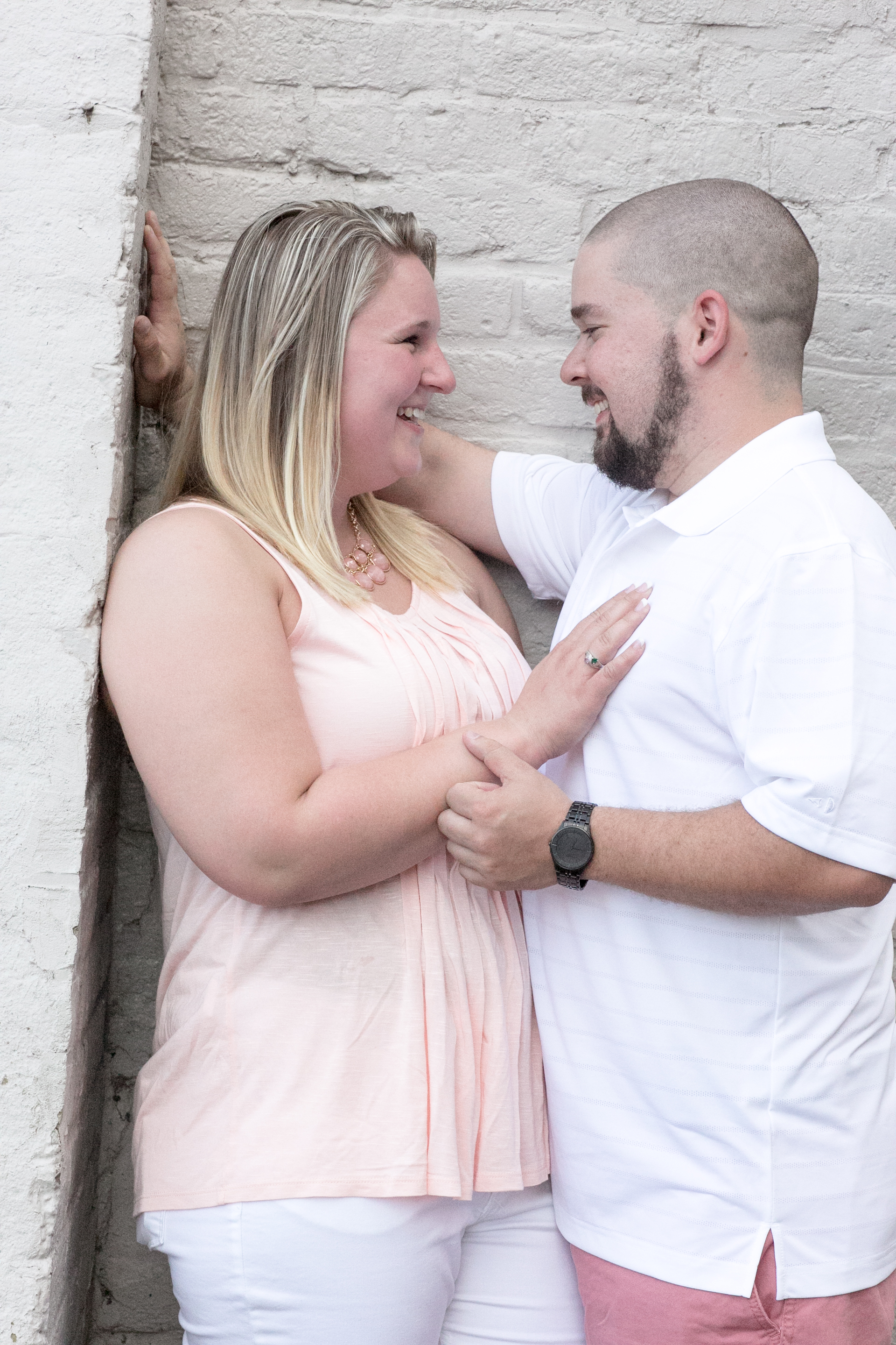 downtown fredericksburg virginia engagement session heather michelle photography dog (1 of 1)-6