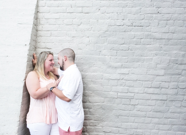 downtown fredericksburg virginia engagement session heather michelle photography dog (1 of 1)-7