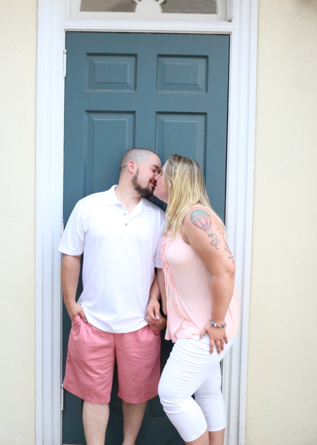 downtown fredericksburg virginia engagement session heather michelle photography dog (1 of 1)-8
